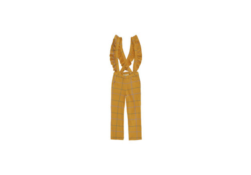 Soft Gallery Soft Gallery Erica pants Inca Gold AOP Trellis