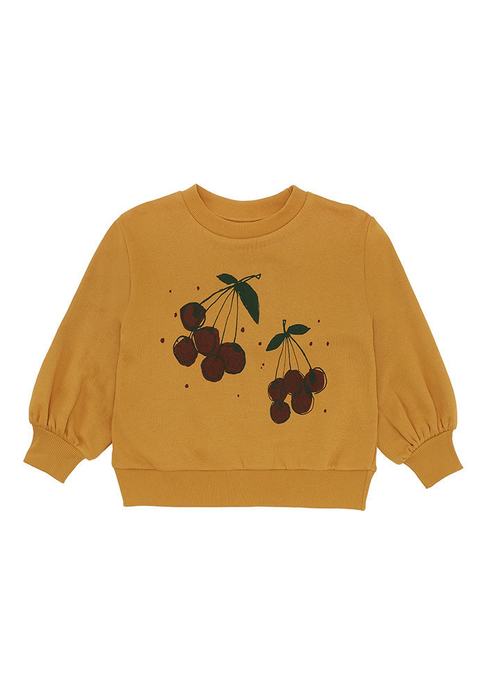 Soft Gallery Elvira Sweatshirt Inca Gold Very Berry