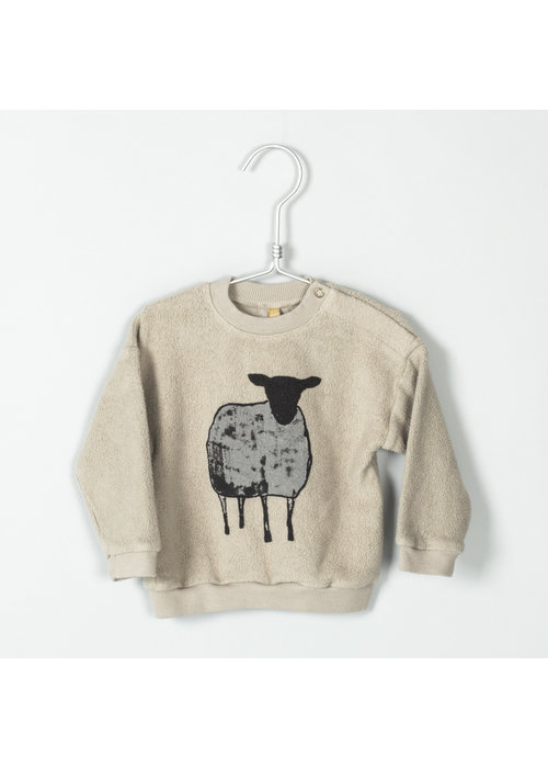 Lötiekids Lötiekids Baby Sweatshirt Polar Sheep Beige