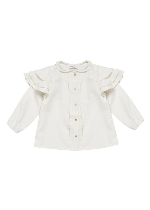 Maed for Mini Maed for Mini Romantic Rabbit Blouse