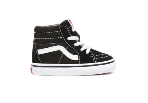 VANS Vans Toddler Classic High Black/True White