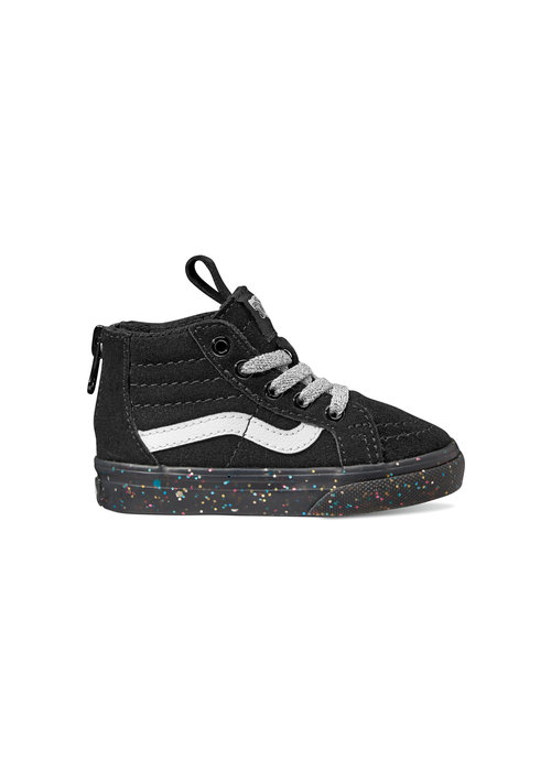 VANS Vans Glitter Sidewalk Black Toddler