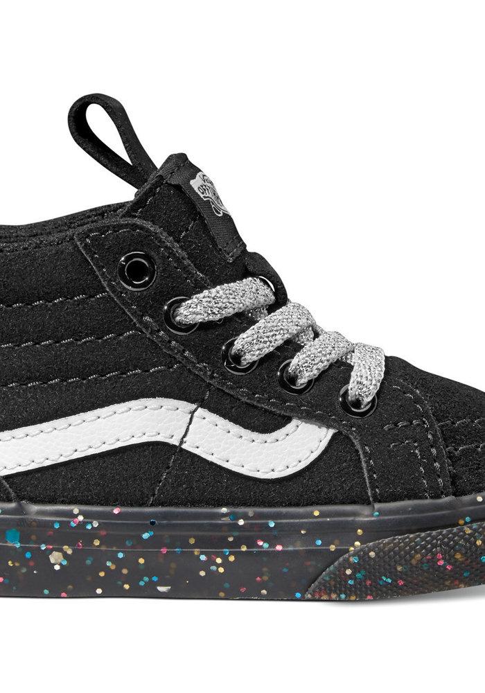 Vans Glitter Sidewalk Black Toddler