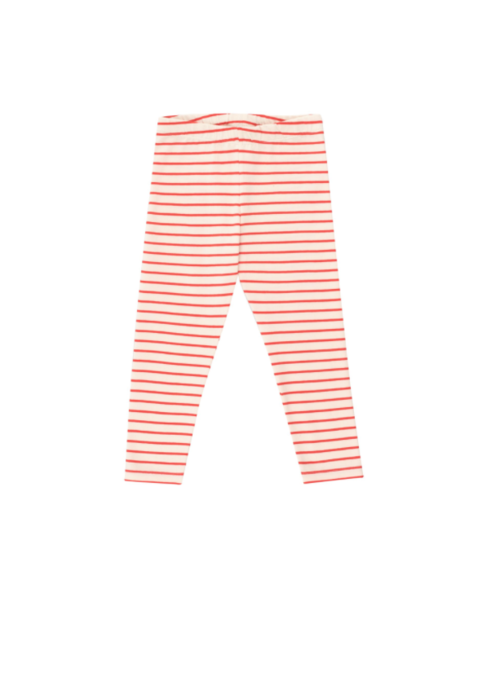 Tinycottons Tinycottons Stripes Pant light cream/red