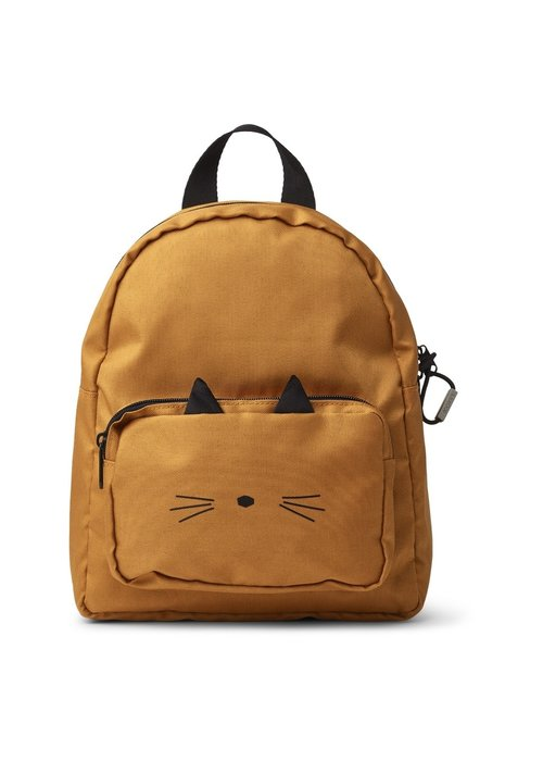 Liewood Liewood Alan Backpack Cat Mustard