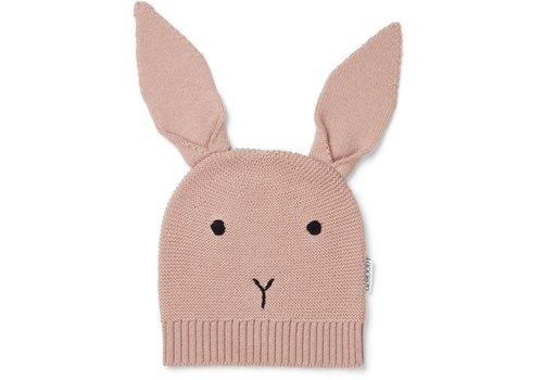 Liewood Liewood Viggo Knit Hat Rabbit Rose
