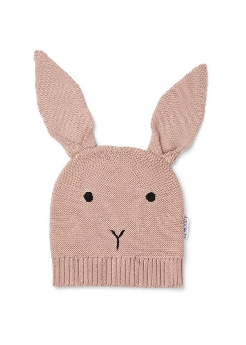 Liewood Liewood Viggo Knit Hat Rabbit Rose