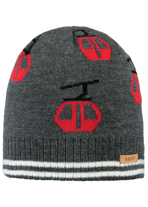 Barts Barts Dequan Beanie Dark Heather 53-55