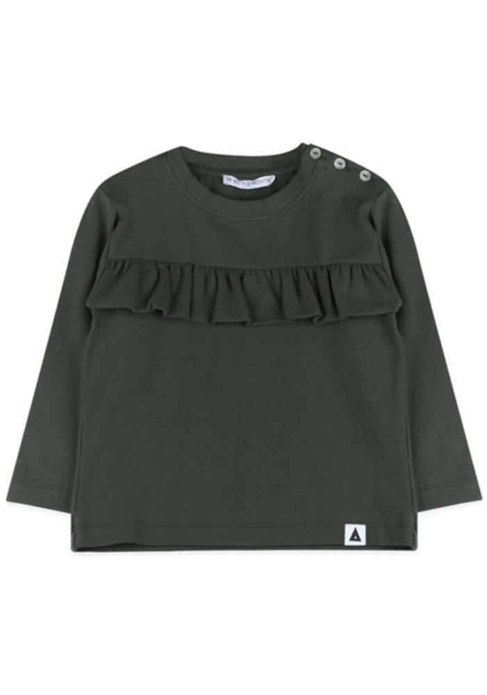 Ammehoela Coco Shirt Baby Dark Army
