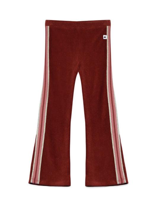 Ammehoela Ammehoela Liv Flared Pants Bordeaux