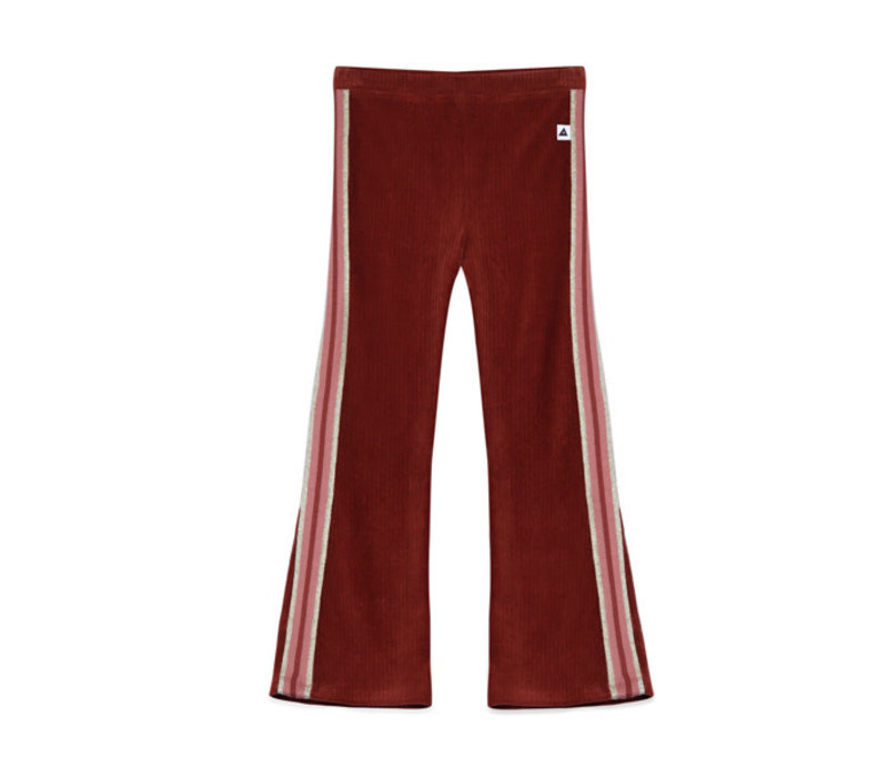 Ammehoela Liv Flared Pants Bordeaux