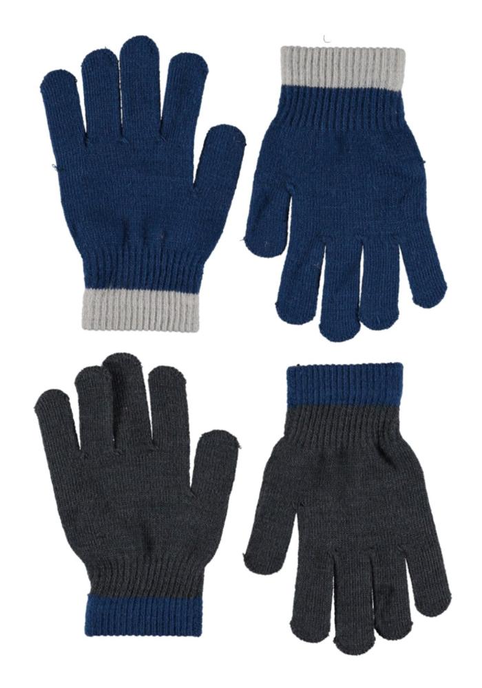 Molo Kello Gloves Ocean Blue 8-16y
