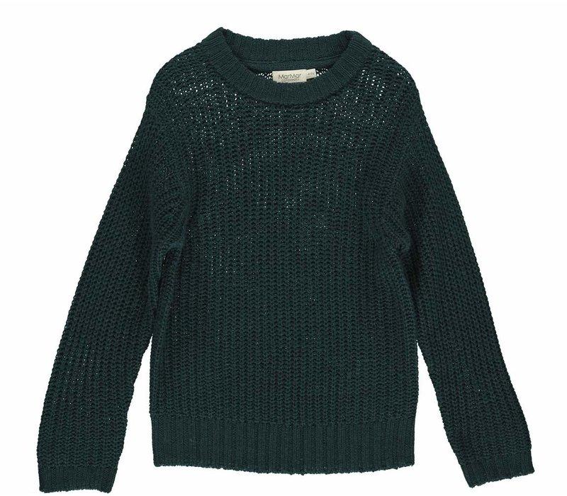 MarMar Tonga Chunky Knitwear Oily Blue