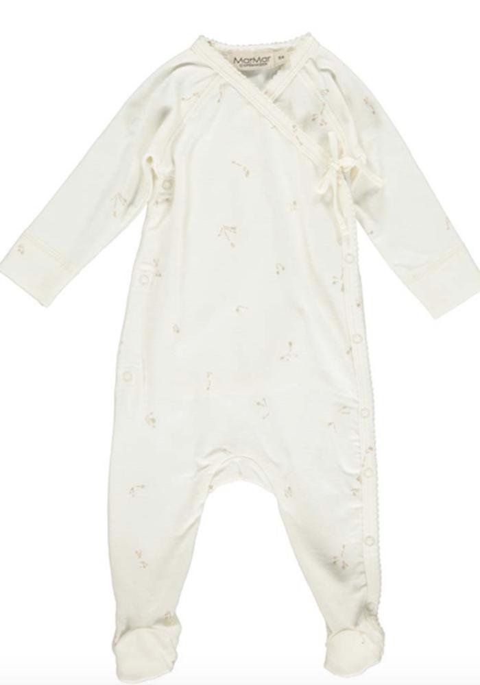 MarMar Rubetta Newborn Suit Rose Stems