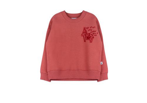 Ammehoela Ammehoela Rocky Sweater Soft Red
