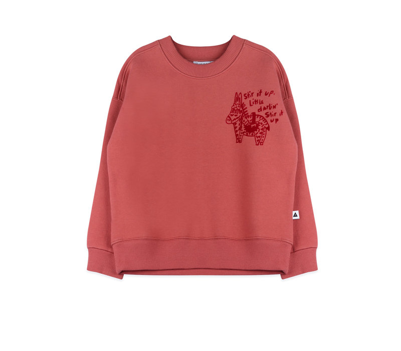 Ammehoela Rocky Sweater Soft Red