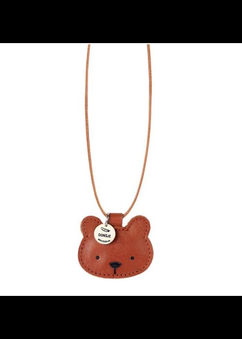 Donsje Donsje Wookie Necklace Bear