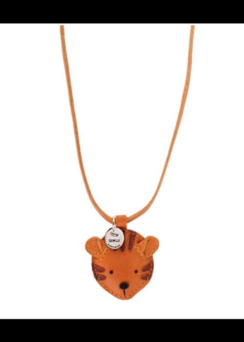 Donsje Donsje Wookie Necklace Tiger