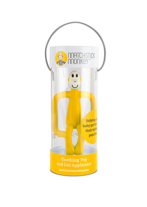 Matchstick Monkey Matchstick Monkey Teething Toy Yellow