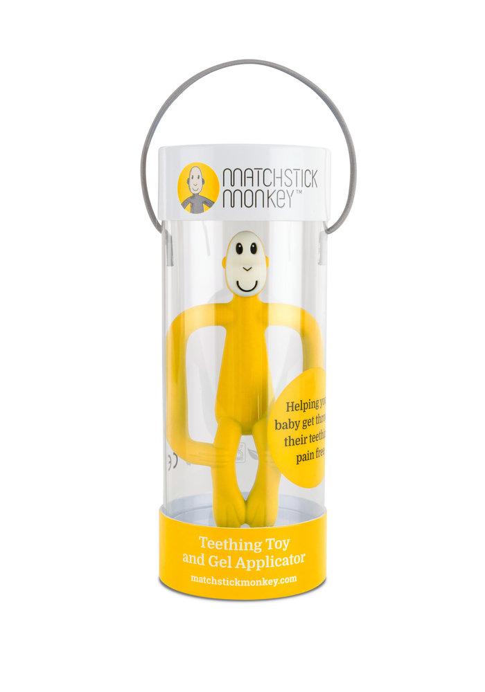 Matchstick Monkey Teething Toy Yellow
