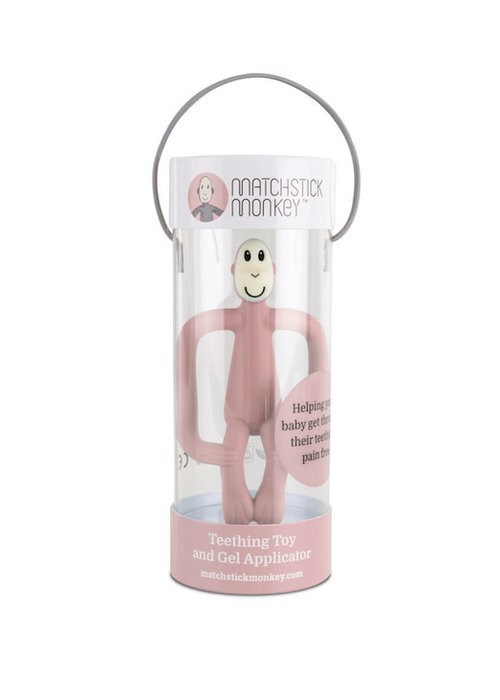Matchstick Monkey Matchstick Monkey Teething Toy Dusty Pink