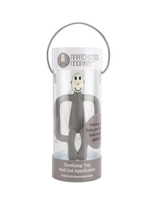Matchstick Monkey Matchstick Monkey Teething Toy Grey