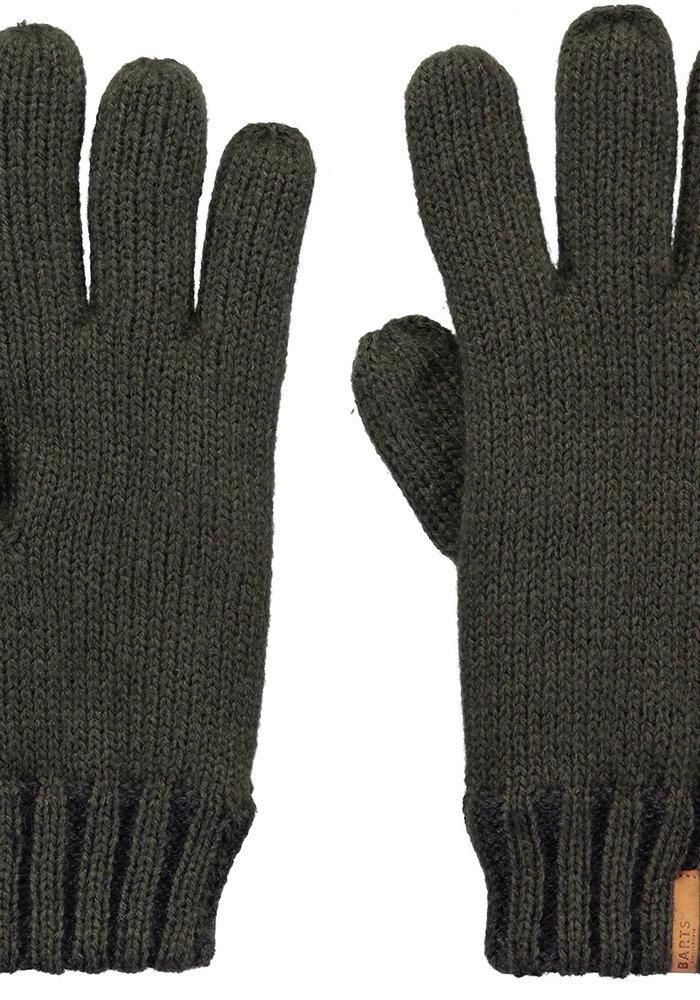 Barts Brighton Gloves Kids 8-10 yrs Army