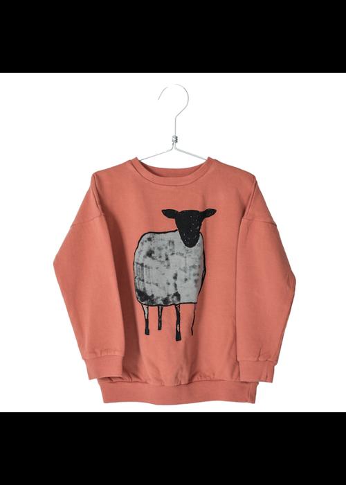 Lötiekids Lötiekids Sweatshirt Sheep Brick