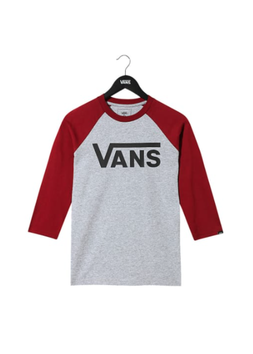 VANS Vans Classic Raglan Tee Biking Red