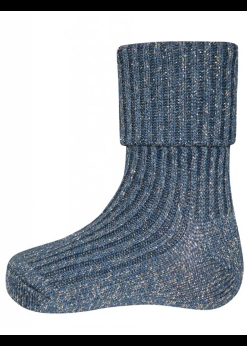 Ewers Ewers Socks Glitter Dark Blue