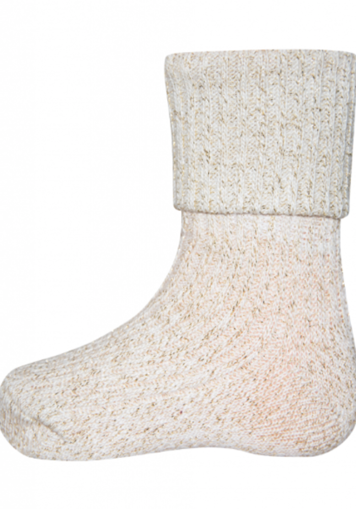 Ewers Socks Glitter Creme