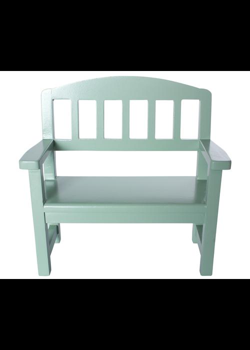 Maileg Maileg Wooden Bench Green