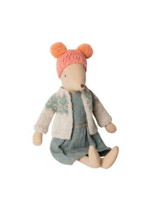 Maileg Maileg Winter Mouse Medium Girl