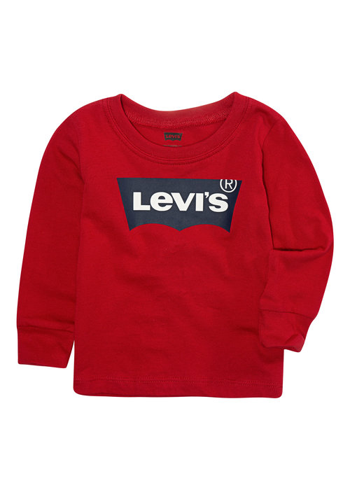 LEVI'S LEVI'S Batwing Tee LS Red