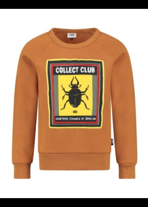 CKS CKS Bradford Sweater Rust
