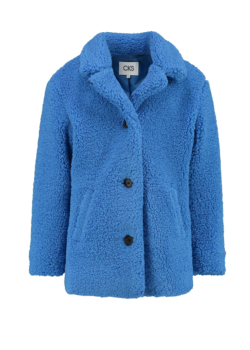 CKS CKS Guanara Jacket Art Blue