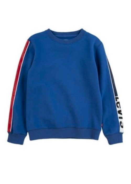 LEVI'S LEVI'S Bold Striped Crew Neck True Blue
