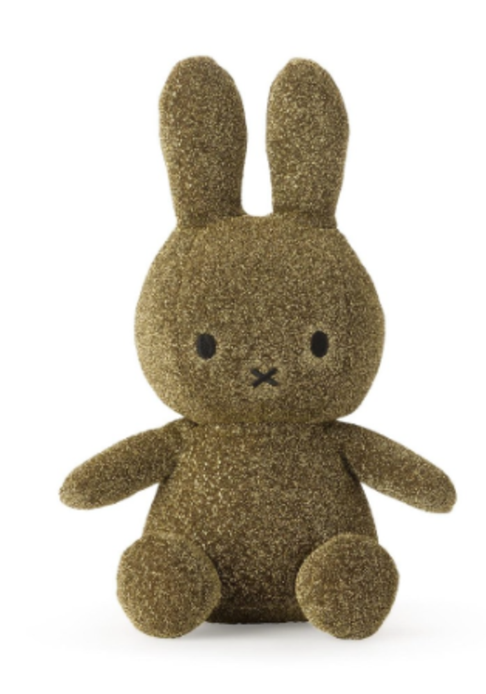 Miffy Sitting 23 cm Sparkle Gold