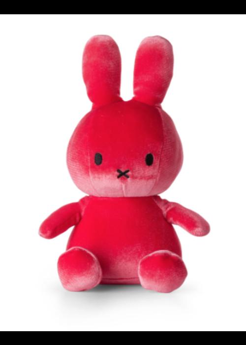 Miffy Sitting 23 cm Velvet Candy Pink