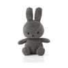 Miffy Sitting Corduroy 23 cm Grey