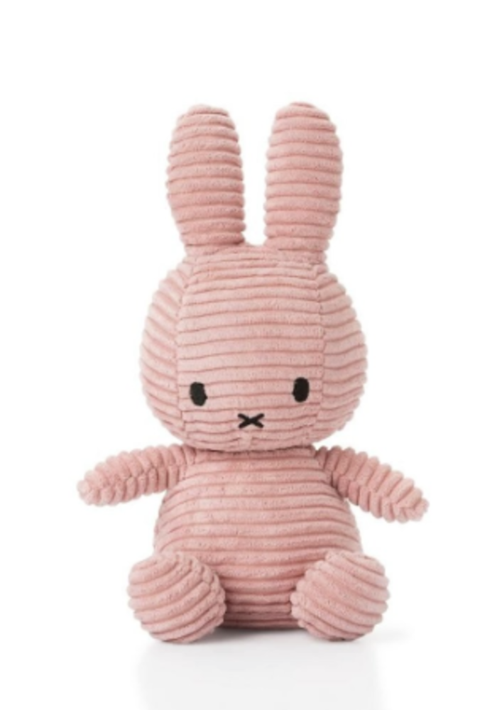 Miffy Sitting Corduroy 23 cm Pink