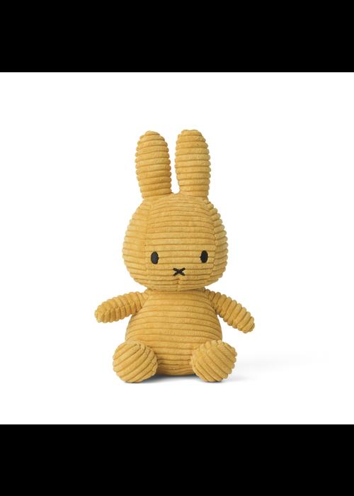 Miffy Sitting Corduroy 23 cm Yellow