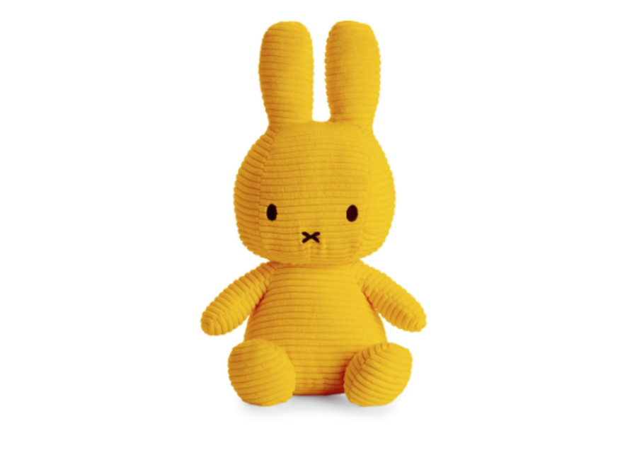 Nijntje Sitting Corduroy 33 cm Yellow