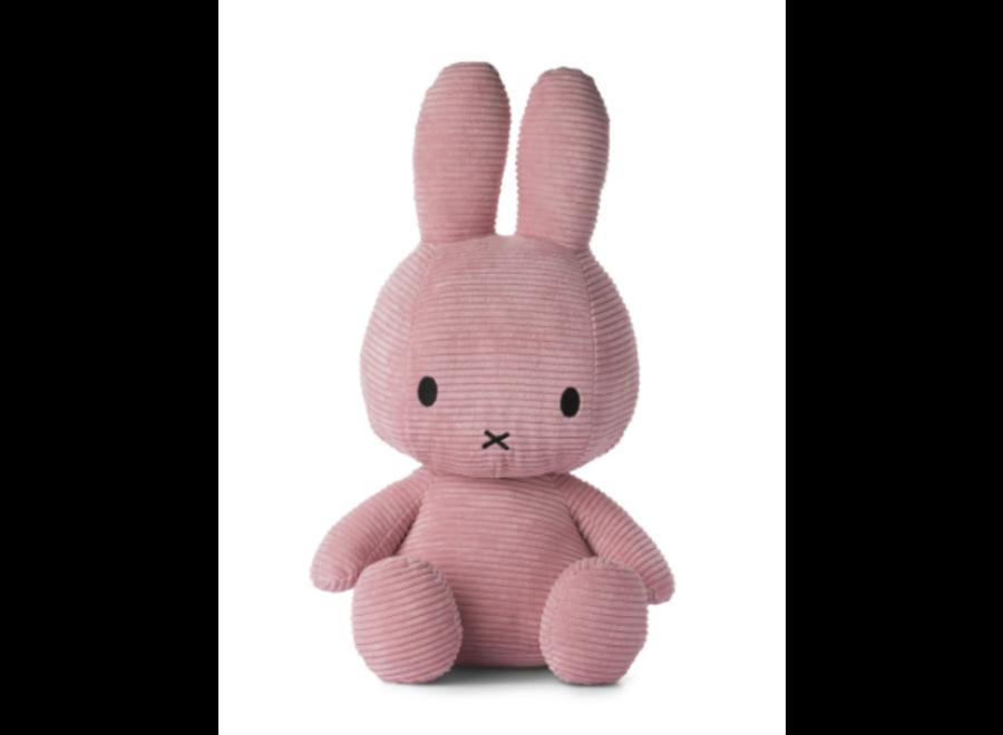 Nijntje  Sitting Corduroy Pink 50 cm