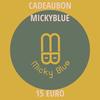 Cadeaubon Micky Blue 15 EURO