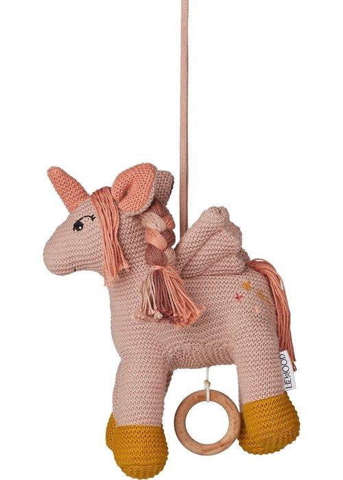Liewood Liewood Sue Music Mobile Unicorn Sorbet Rose