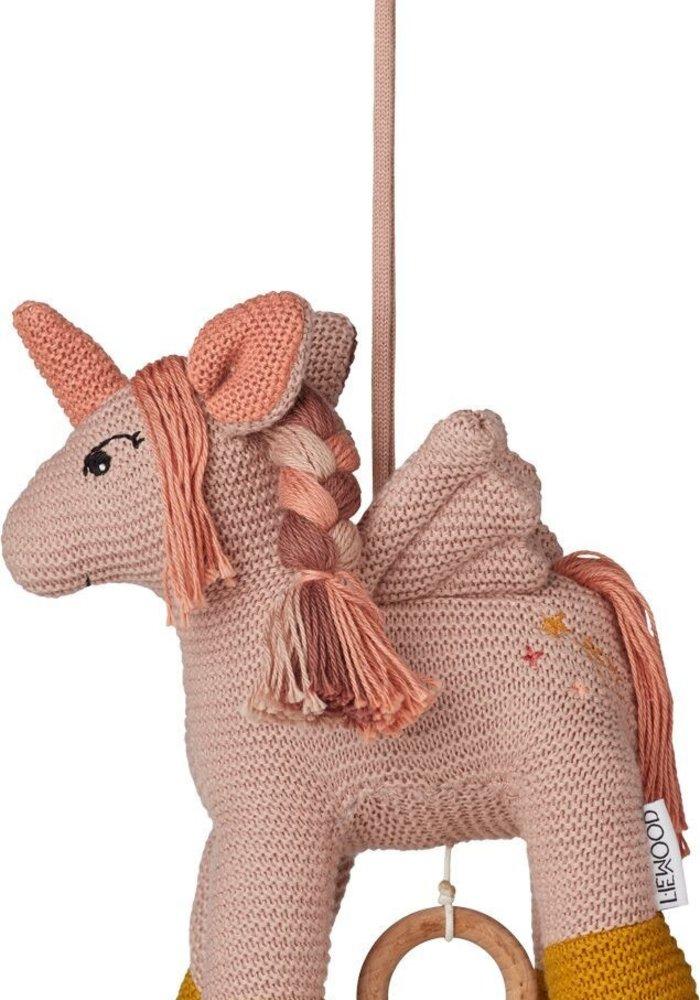 Liewood Sue Music Mobile Unicorn Sorbet Rose