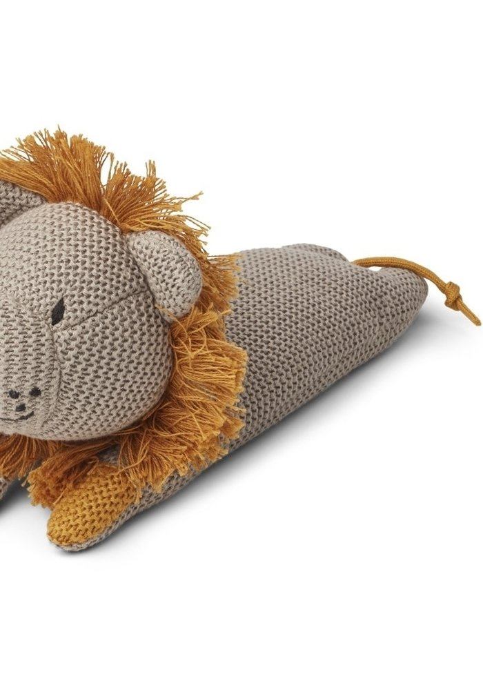 Liewood Missy Knit Teddy Lion Stone Beige