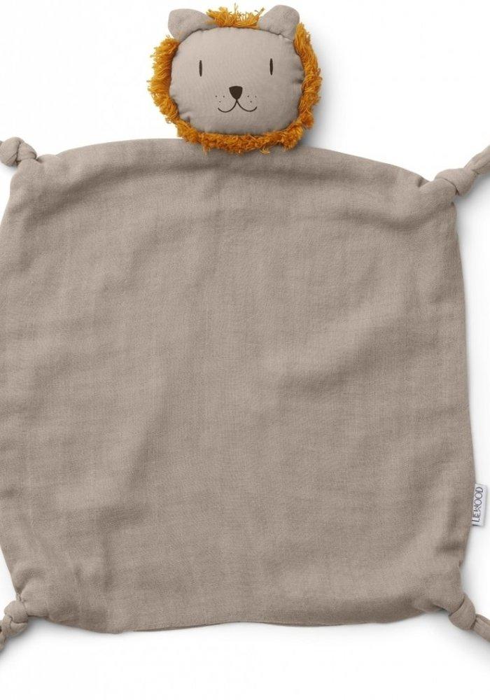 Liewood Agnete Cuddle Cloth Lion Stone Beige