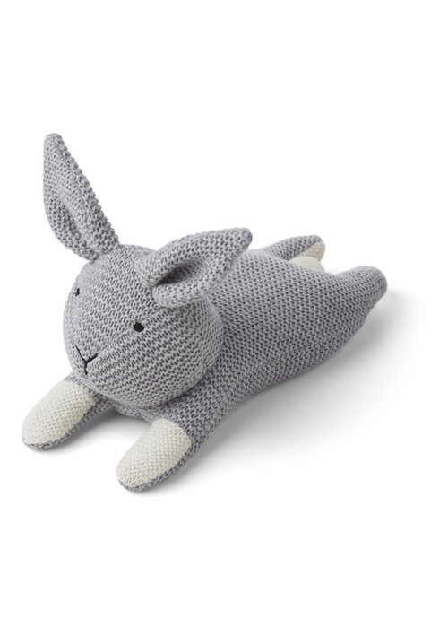 Liewood Liewood Missy Knit Teddy Rabbit Grey Melange